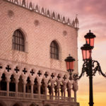 Doges Palace at sunrise, Venice
