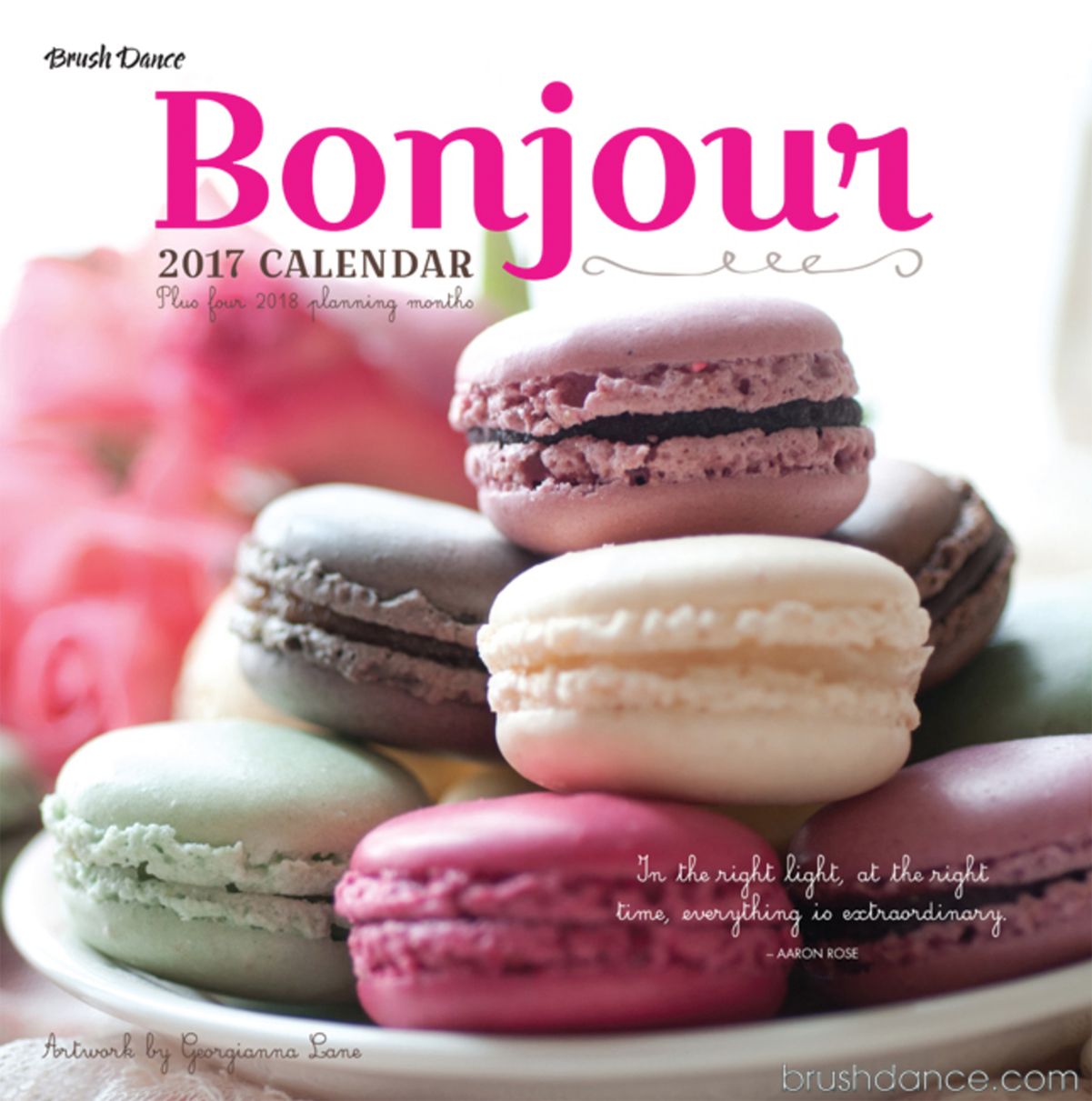 Bonjour 2017 Calendar by Georgianna Lane