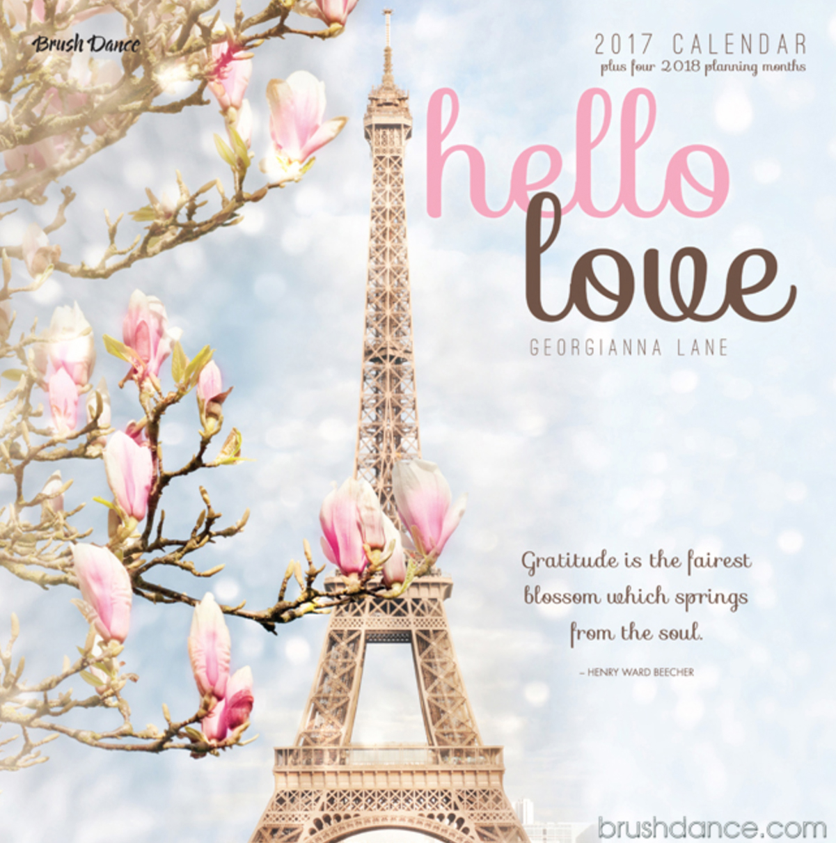 Hello Love 2017 Calendar by Georgianna Lane