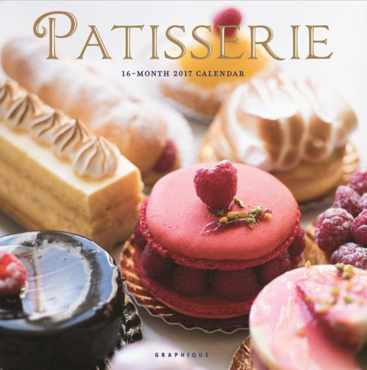Patisserie 2017 Calendar by Georgianna Lane