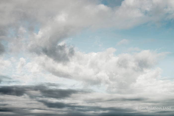 Cloud, Cannon Beach, Oregon, by Georgianna Lane