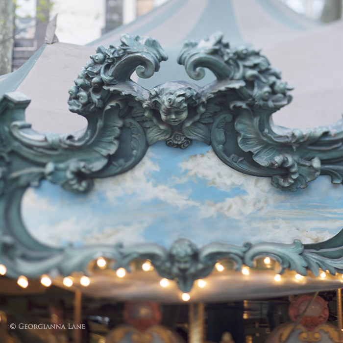 Bryant Park Carousel, New York by Georgianna Lane