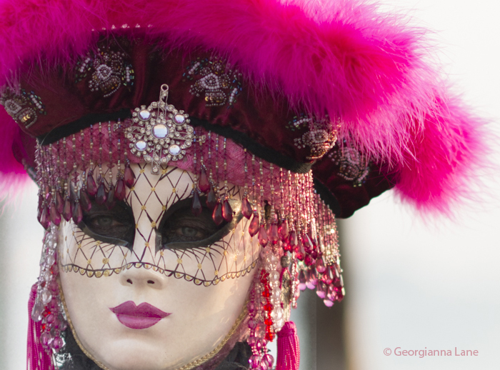 Carnival Costume, Venice, Italy, by Georgianna Lane