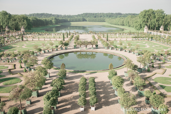 L'Orangerie, Versailles by Georgianna Lane