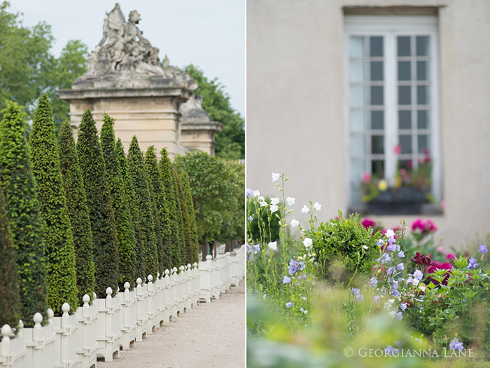 Garden Details, Versailles by Georgianna Lane