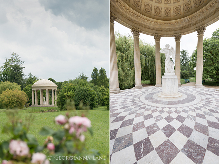 Temple of Love, Versailles by Georgianna Lane