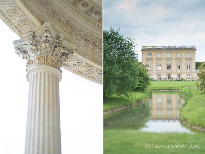 Temple of Love and Le Petit Trianon, Versailles by Georgianna Lane