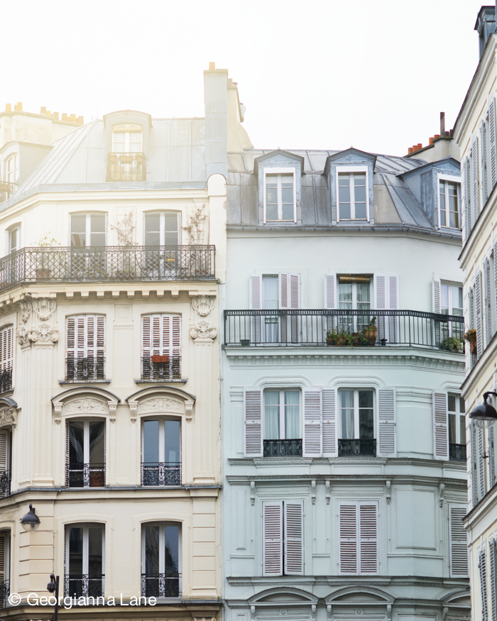 Morning light, Paris, by Georgianna Lane