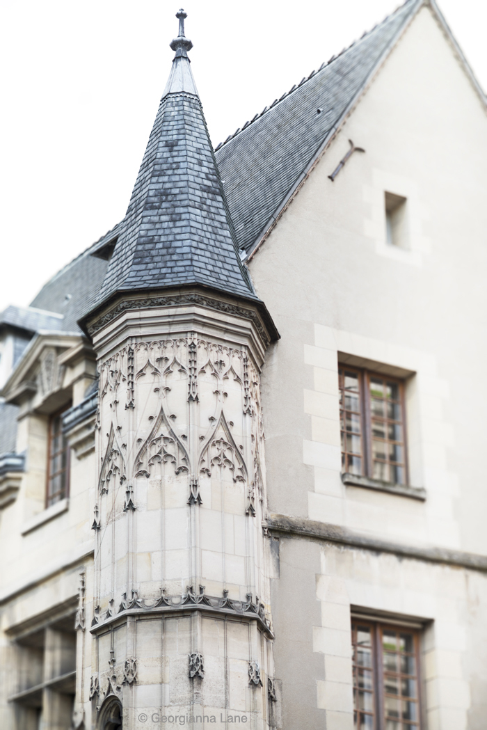 Turret, le Marais, Paris, by Georgianna Lane