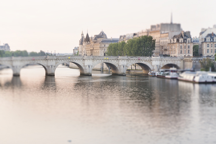 Dawn on the Seine, Paris, by Georgianna Lane