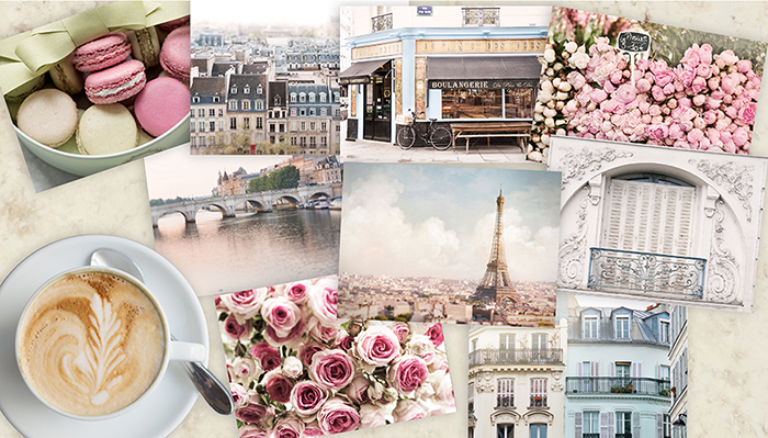 Georgianna Lane Paris Postcards