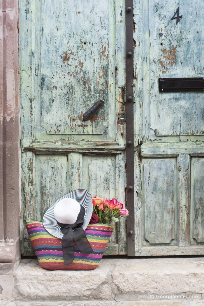 Door, San Miguel de Allende, Mexico, by Georgianna Lane