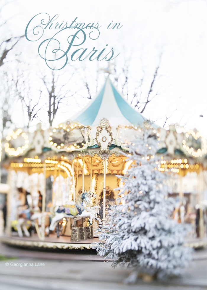 Christmas in Paris by Georgianna Lane
