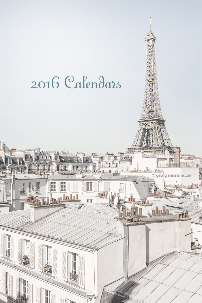 Georgianna Lane 2016 Calendars