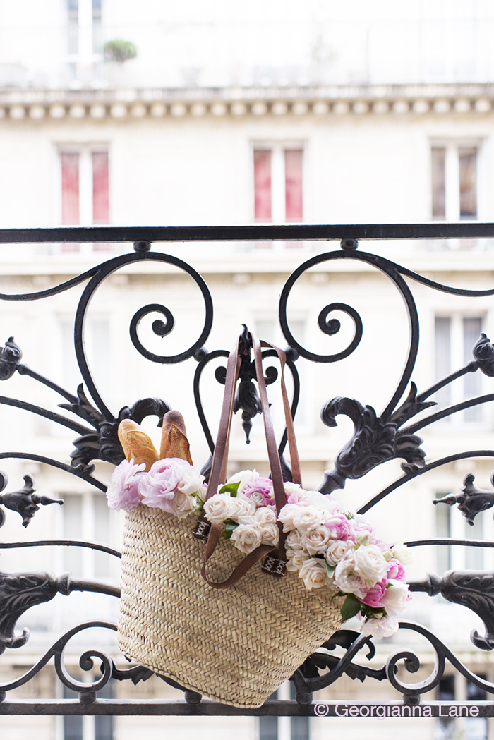 Market Flowers, Paris by Georgianna Lane