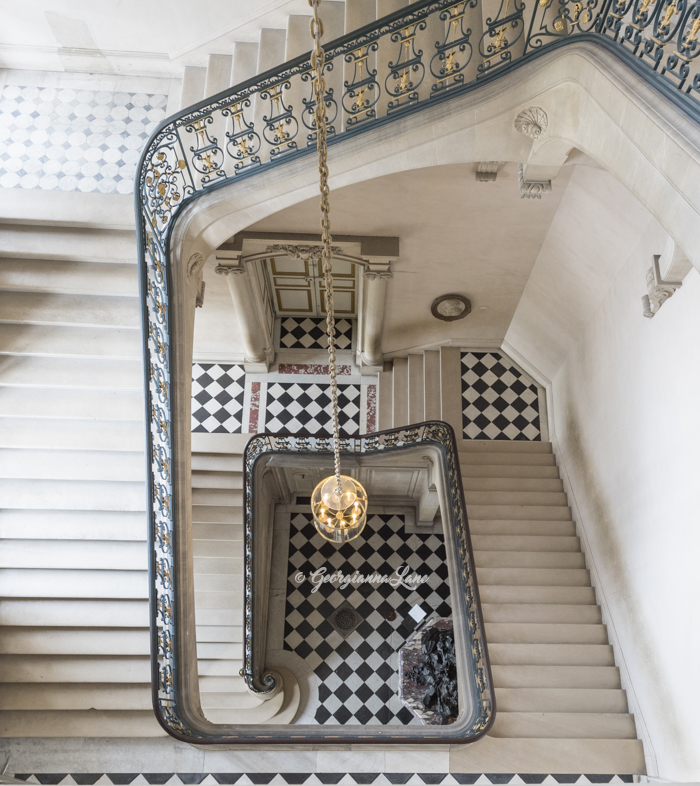 The Questel Staircase, Versailles, by Georgianna Lane
