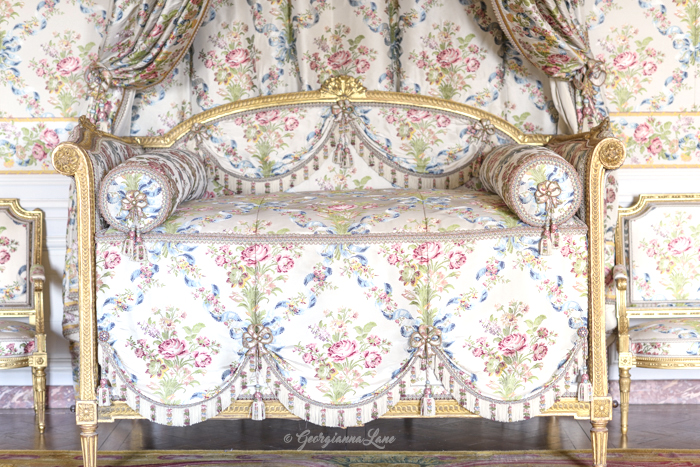 Chambre de Madame Adelaide, Versailles, by Georgianna Lane