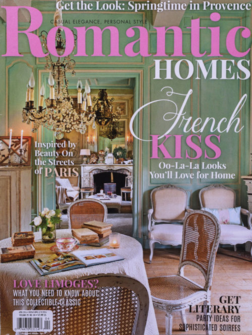 Romantic Homes April 2016