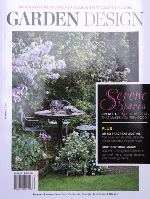 Garden Design Magazine Summer 2016