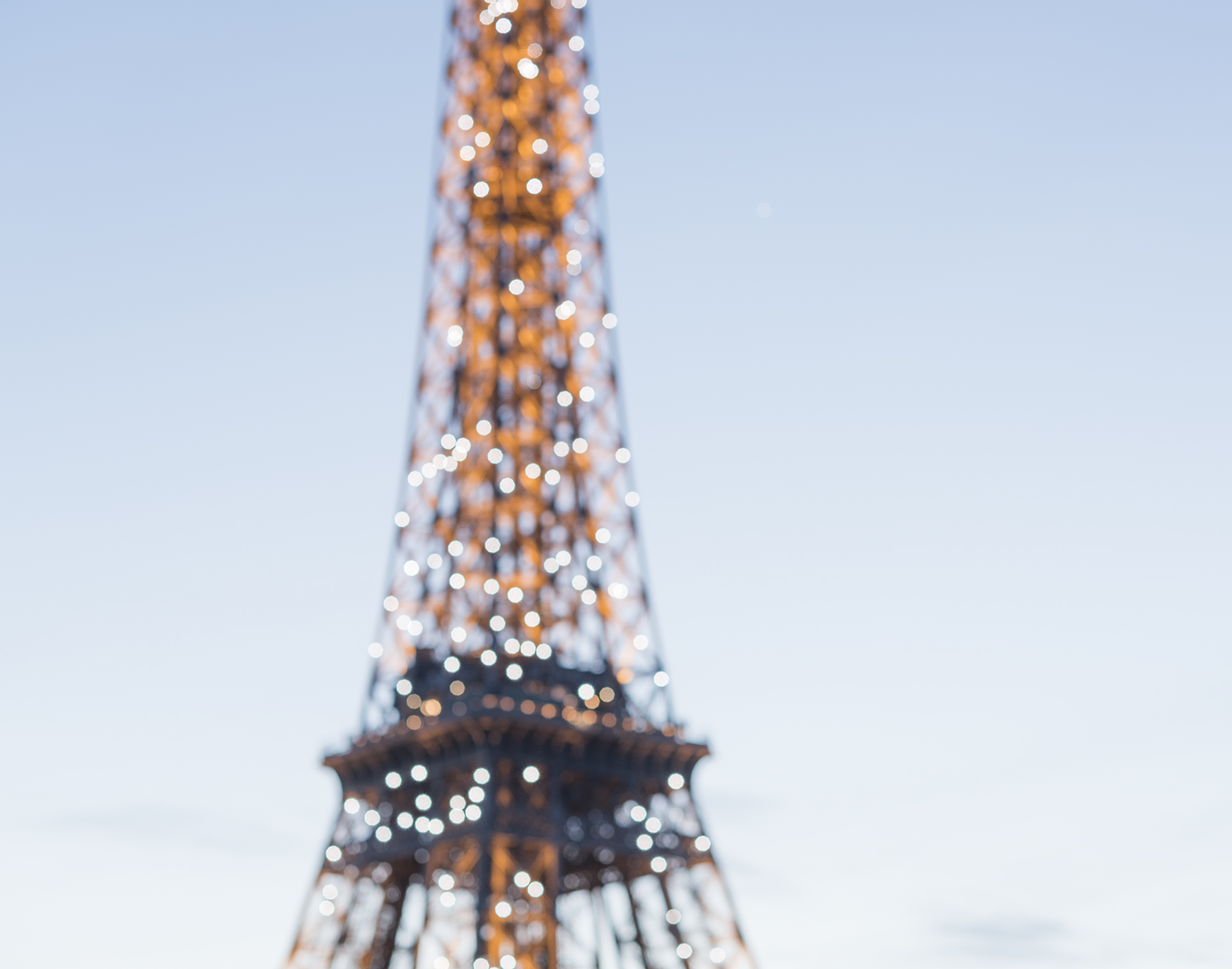 Eiffel Tower at the Paris in Bloom book launch party