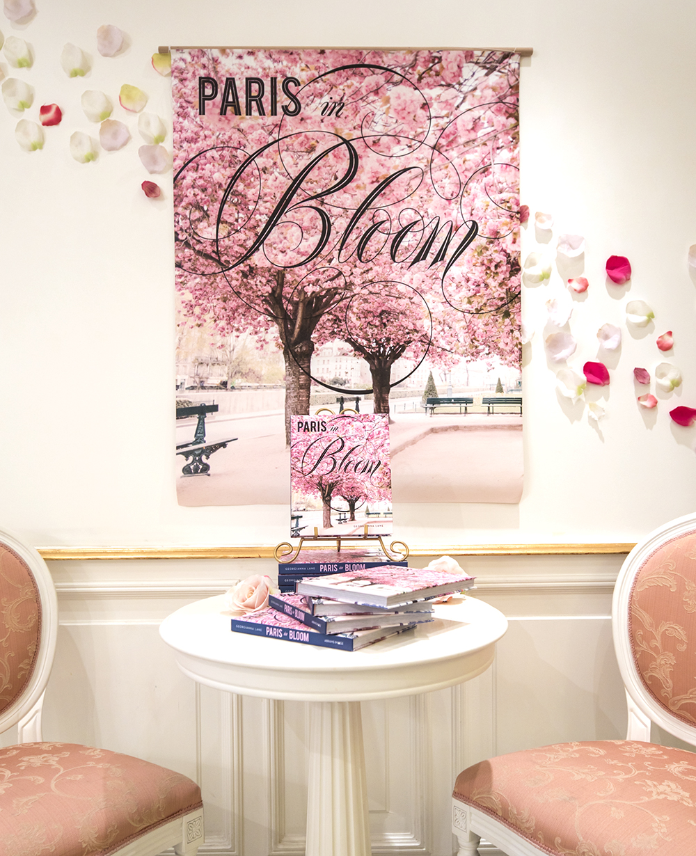 Paris in Bloom Book Event, Nina's Paris