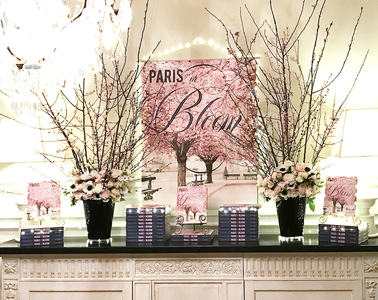 Paris in Bloom Book Release, Paris