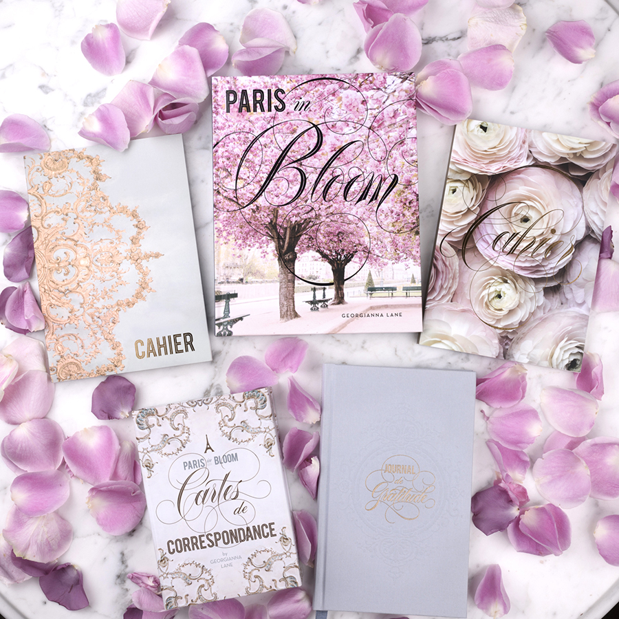 Paris in Bloom Collection by Georgianna Lane