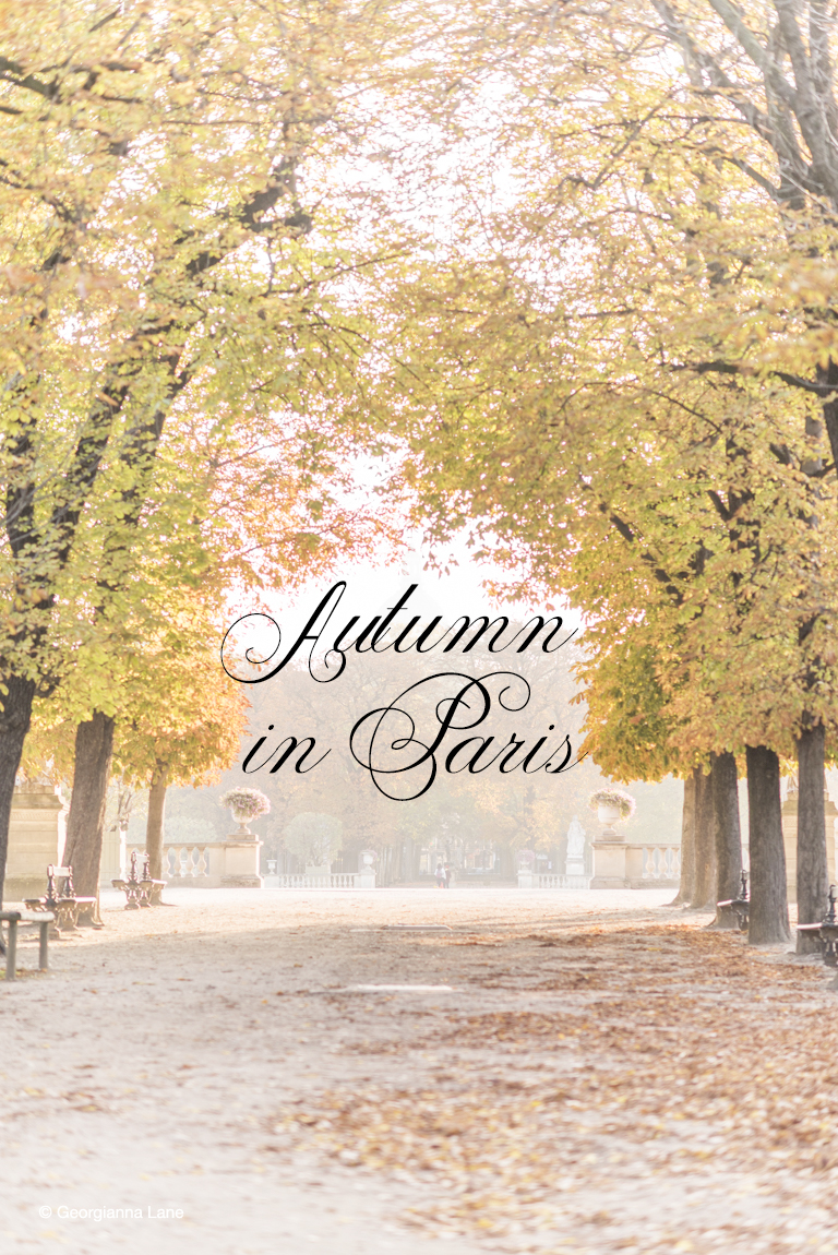 Autumn in Paris by Georgianna Lane