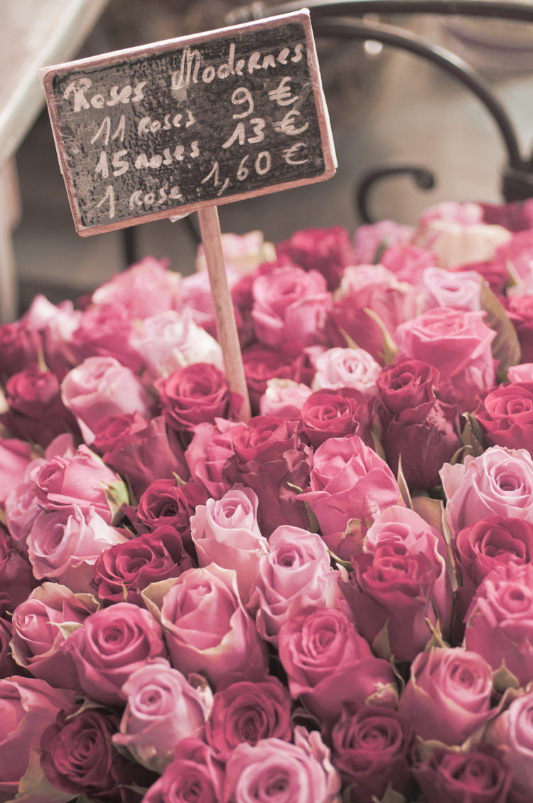 Good Morning I Love You So Much Paris Flower Markets